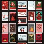 圣诞节饰品邮票