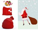 圣诞老人礼物袋