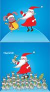 圣诞老人与小熊