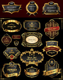 欧式金色label