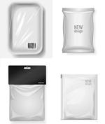 塑料袋包装矢量