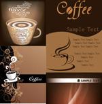d精美咖啡元素