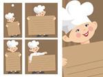 厨师公示板