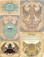 欧式复古盾牌