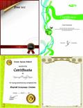 毕业证证书背景