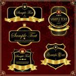 皇室盾牌标签