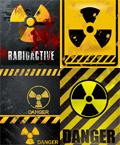 核危险警告牌