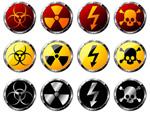 核辐射警告标志