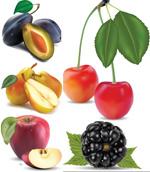 逼真的水果