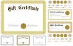 欧式花纹证书