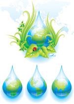 环保主题矢量
