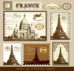 巴黎建筑邮票