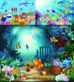 海洋生物矢量