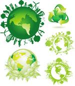 绿色环保地球