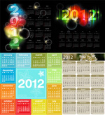 典雅2012年日历