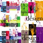 时尚女性海报