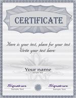 文凭证书模板