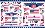 美国国旗艺术
