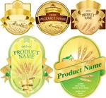 小麦产品标签