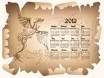 羊皮纸2012日历