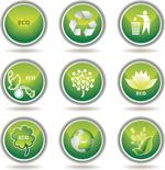 环保标志图标