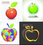 创意抽象苹果