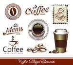 咖啡设计元素