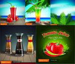 果蔬鲜榨果汁海报