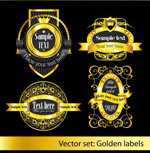 金色花纹皇冠