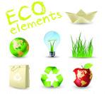 低碳环保图标
