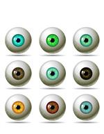 彩瞳眼球设计