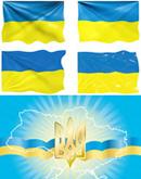 乌克兰国旗国徽
