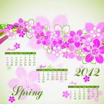 2012年春冬日历