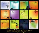 2011万圣节年历
