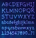星光字母设计