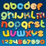 卡通效果字母5