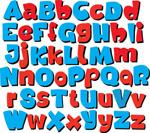 卡通效果字母6