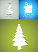 2012圣诞节折纸