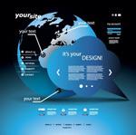 金融网站模板
