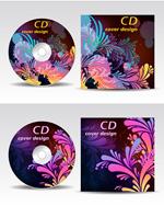 潮流印花CD包装