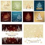 圣诞树节日卡片