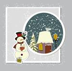 精美圣诞节贺卡