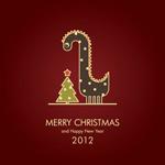 2012圣诞龙形象