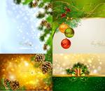 精美圣诞节背景