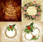 圣诞节花纹图案