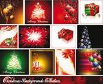 璀璨的圣诞背景1