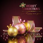 圣诞彩球装饰