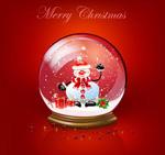 圣诞节玻璃水球