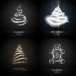 光晕圣诞树玩偶
