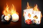 扑克牌骰子